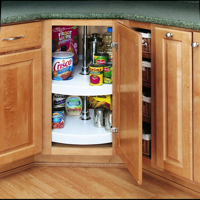Full circle polymer tray set richelieu hardware for Full kitchen cabinet set