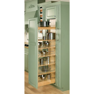 Wood Pull Out Pantry
