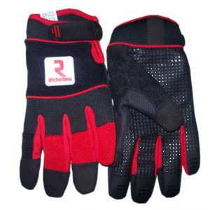 Synthetic Leather Handling Gloves