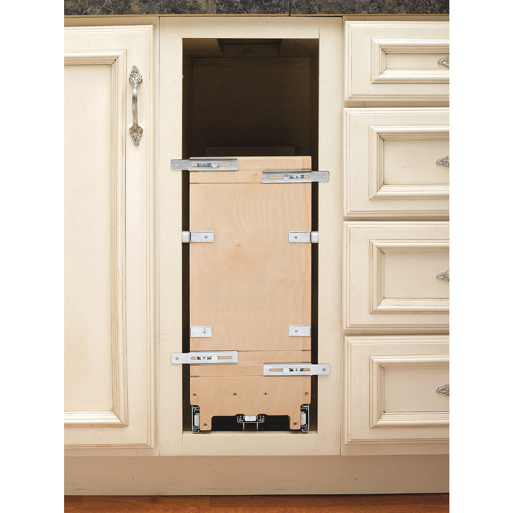 Pull out base cabinet organizer richelieu hardware Bathroom cabinet organizers pull out