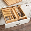 Combination Knife/Cutting Board Drawer
