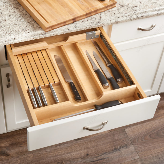 Combination Knife/Cutting Board Drawer-1