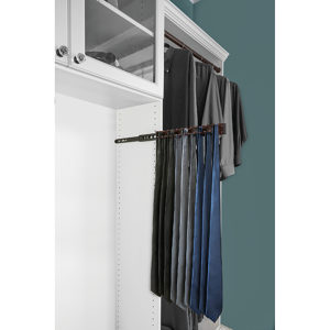 Side-Mount Tie Rack