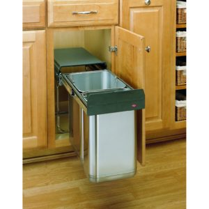 30L Pull-Out Stainless Steel Waste Container