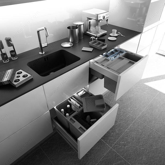 couvert de rangement pour bacs one2five quincaillerie richelieu. Black Bedroom Furniture Sets. Home Design Ideas