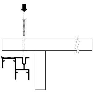 Rail de guidage double inf rieur de 3 05 m 10 pi pour syst me ps10 ps11 et - Double rail coulissant ...