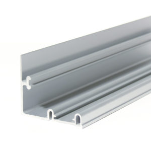 Dual Aluminum Upper Rail, 3050 mm