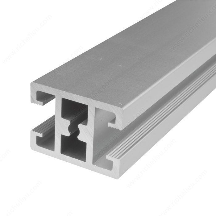 Frame Profile in Anodized Aluminum, Horizontal Front Divider, 3.5 m ...
