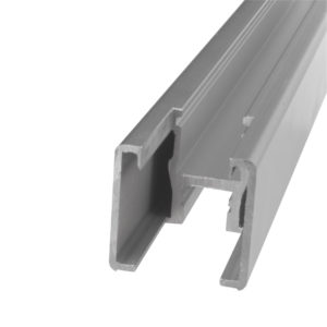 Vertical Frame Profile with Notch, 3 m