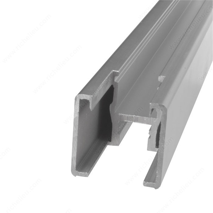 Vertical Frame Profile with Notch, 3 m-1