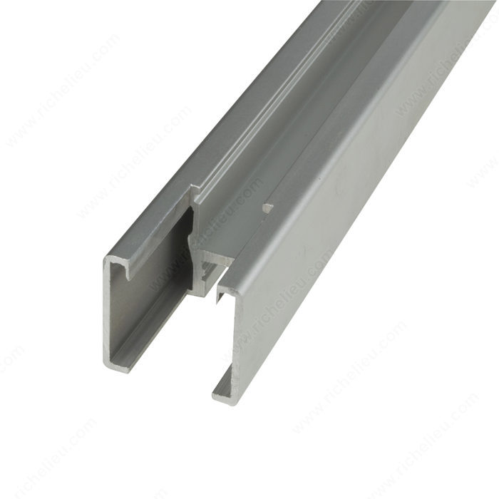 Vertical Frame Profile with Notch, 3 m-2