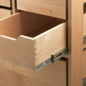 8407 Series Drawer Slides with Shelf Tabs