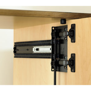 8092 Series Full Extension Pocket Door Slide 4x4 Hinge
