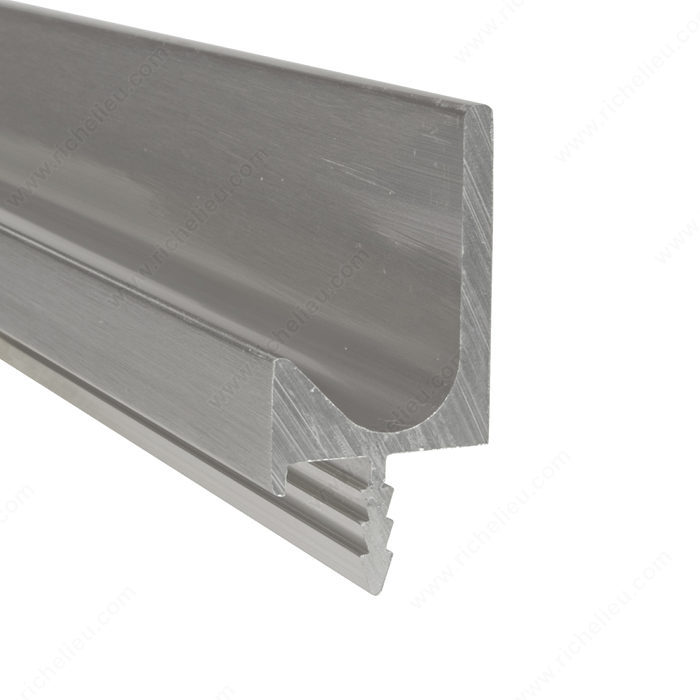 Contemporary Pull Handle In J Shape For 3 4 Quot Panel 3189