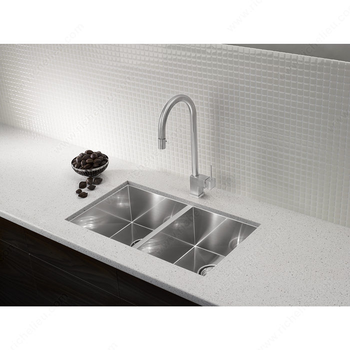 Blanco Faucets Usa : Blanco Sink - Quatrus U 2 - 28247U170 - Richelieu Hardware
