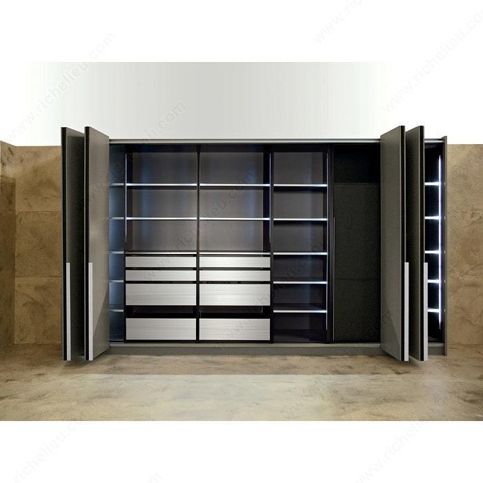Sistema para puertas plegables y corredizas de superposición ...
