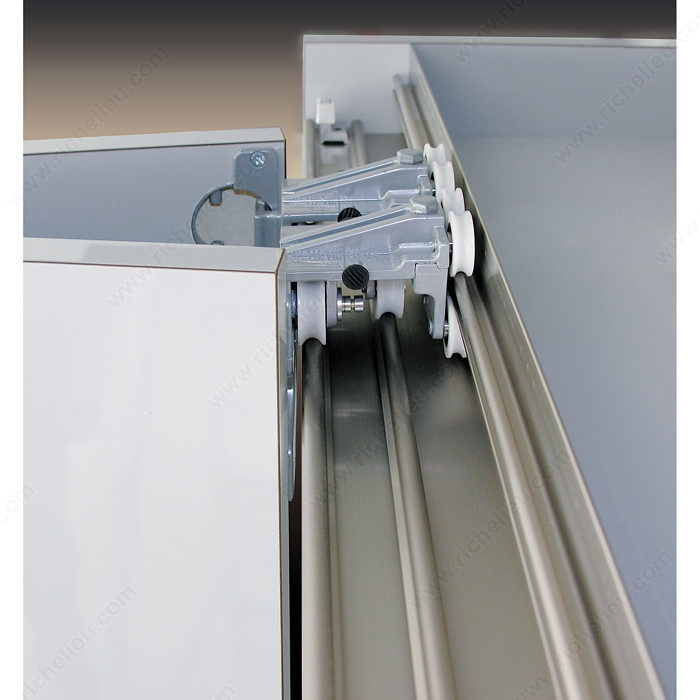 Syst me pour portes pliantes et coulissantes for Miroir 50in projector specs