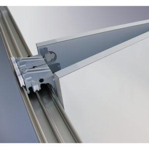 Syst me pour portes pliantes et coulissantes for Systeme porte pliante