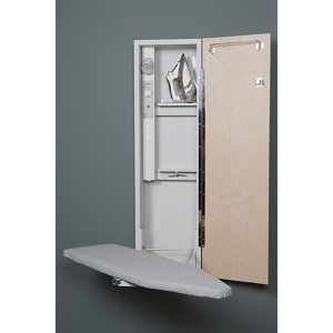 Built-In Electric Swiveling Ironing Board