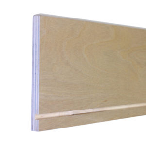 Plywood Drawer Side - Top Side Edgebanded