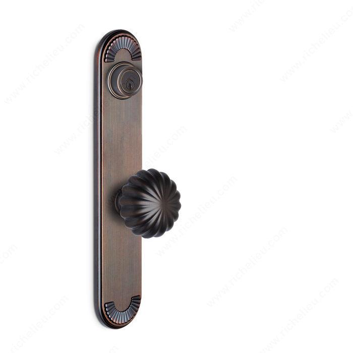 Deadbolt Escutcheon Single Cylinder Knob K5 K5 California Richelieu Hardware