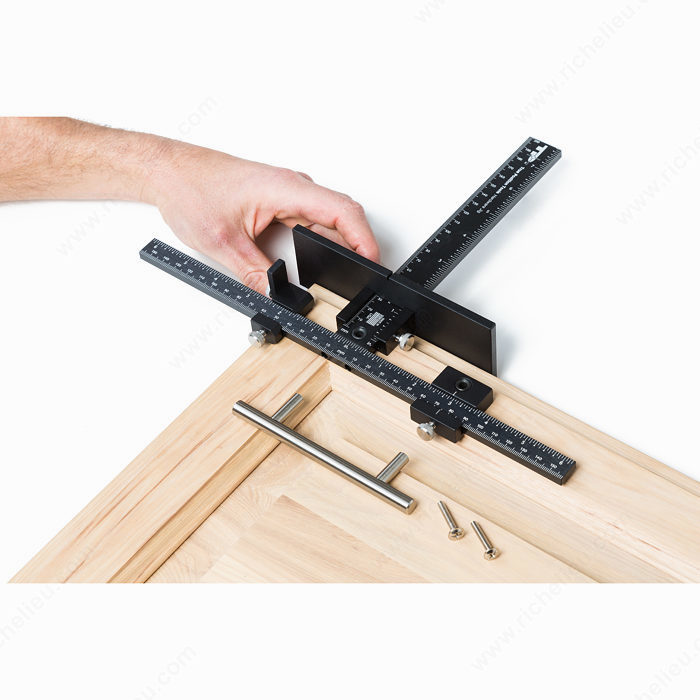 Jig System For Handles And Knobs