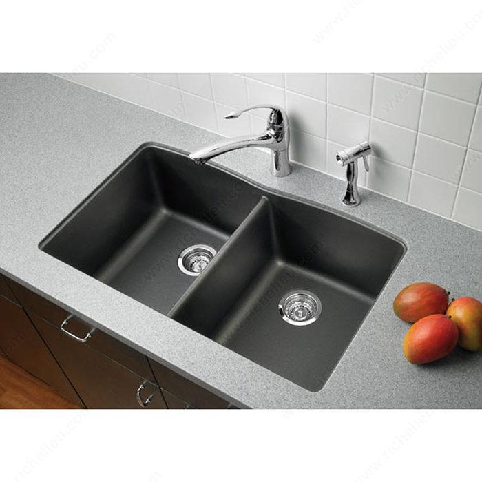 Blanco Sink Mats : Blanco Sink - Diamond U 2 - Richelieu Hardware