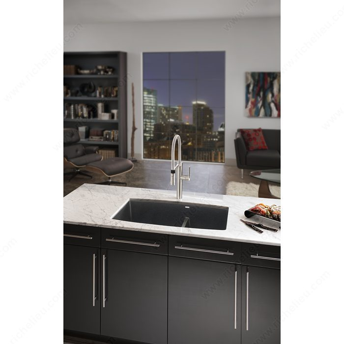 robinet de cuisine blanco culina quincaillerie richelieu. Black Bedroom Furniture Sets. Home Design Ideas