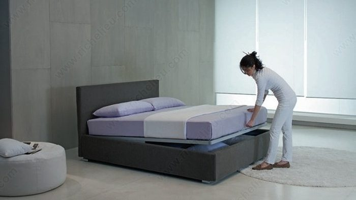 Bed with Storage Unit