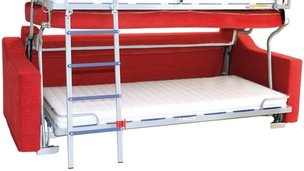 2-in-1 sofabed and bunkbeds