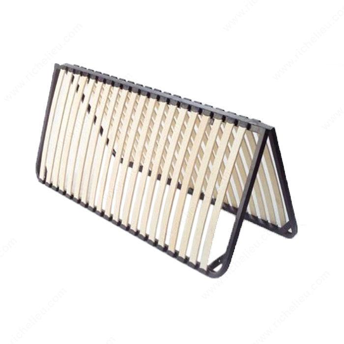 Folding Slatted Bed Base - Richelieu Hardware