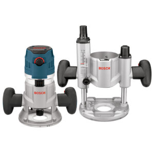 Combination Plunge & Fixed-Base Router Pack (2.3 HP)
