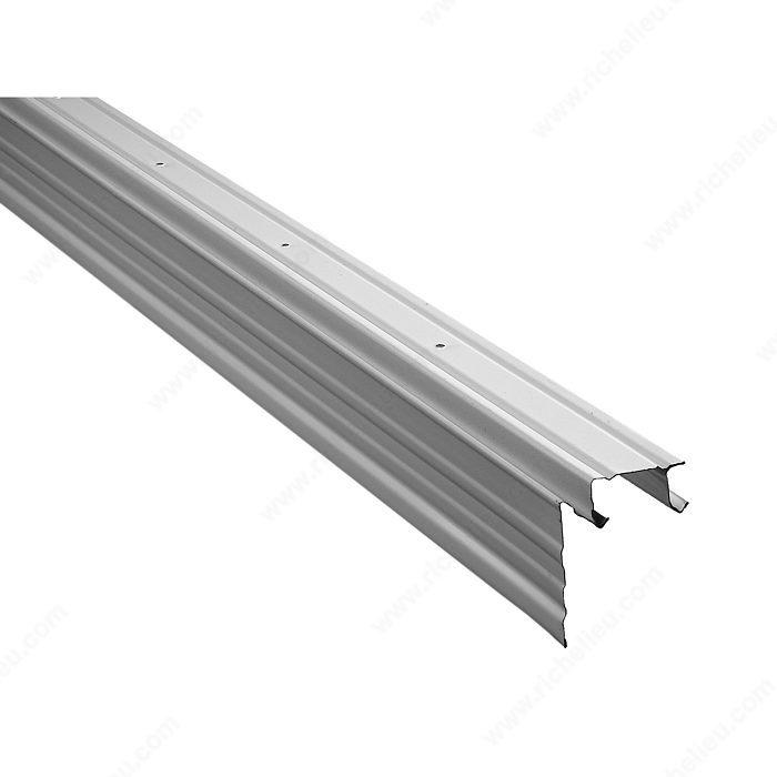 rail sup rieur avec bordure pour porte coulissante quincaillerie richelieu. Black Bedroom Furniture Sets. Home Design Ideas