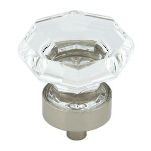 Eclectic Metal and Acrylic Knob - 1008