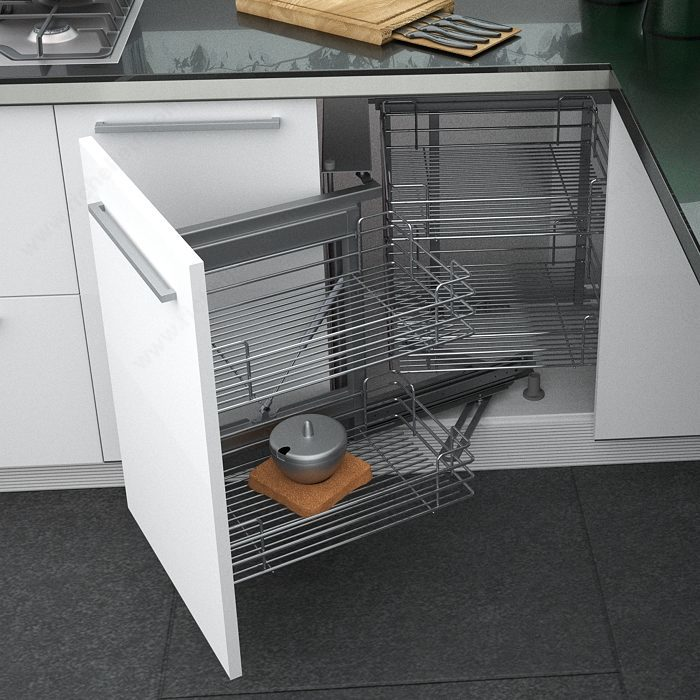 Smart corner iii set left opening richelieu hardware - Smart kitchen furniture ...