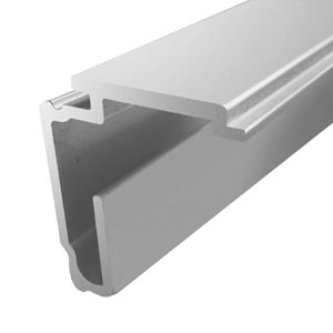 Aluminum Rail for Fixed Near Panel - FU21, 12'