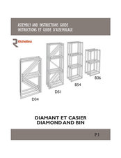 Bulk racks assembly and instructions guide