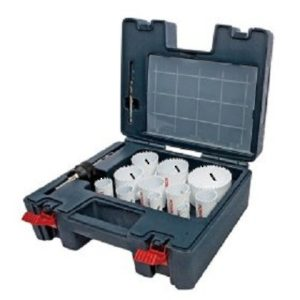 Bi-Metal Hole Saw Master Set (25 Pieces)