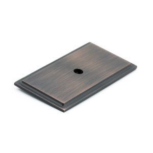Transitional Metal Backplate for Knob - 1045