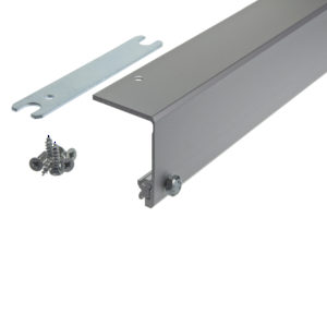 Connector molding, 55 mm, for pivot and pocket doors