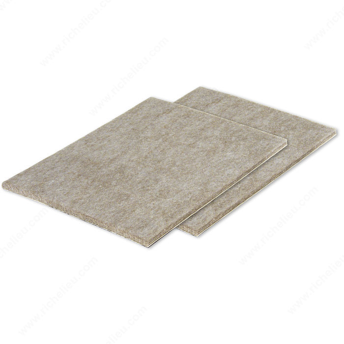 Feltac 174 Heavy Duty Self Adhesive Sheet Felt Pads