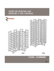 Corner racks assembly and instructions guide