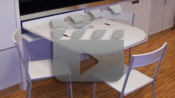 Cheo sliding table mechanism for drawer richelieu hardware - Table basse coulissante ...