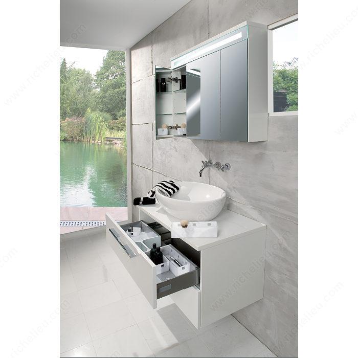 Système d\'aménagement modulaire de tiroir de meuble-lavabo ...