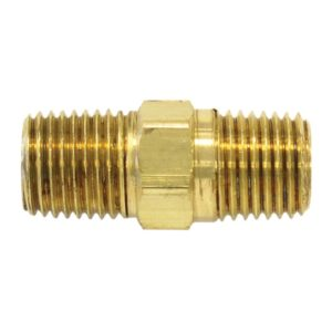 "Male Hex Nipple - 1/4"" (M) NPT"