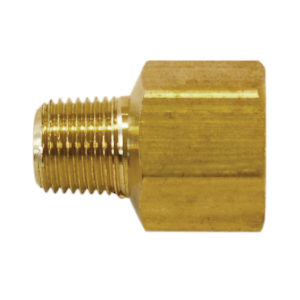 "Hex Adapter - 1/4"" (M) x 3/8"" (F) NPT"