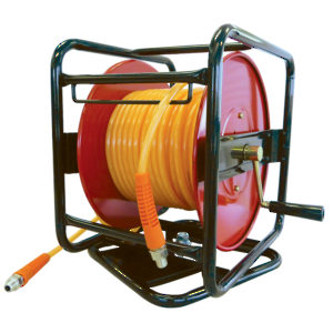 PolyReel Flexair Portable Hose Reels - 1/4 in. x 100 ft. x 1/ in. (M) NPT (With Polyurethane Hose)