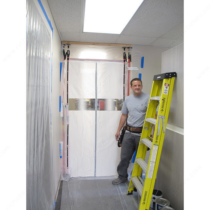 3rd Hand Magnetic Dust Barrier Door Curtain Only
