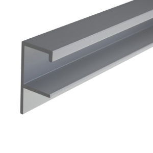 "Contemporary Pull Handle for 5/8""-3/4"" Panel - 1500"