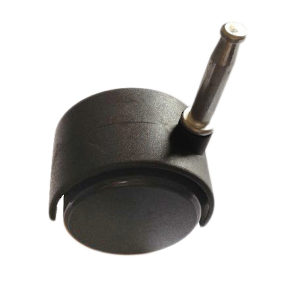 Furniture Caster - With Wood Stem
